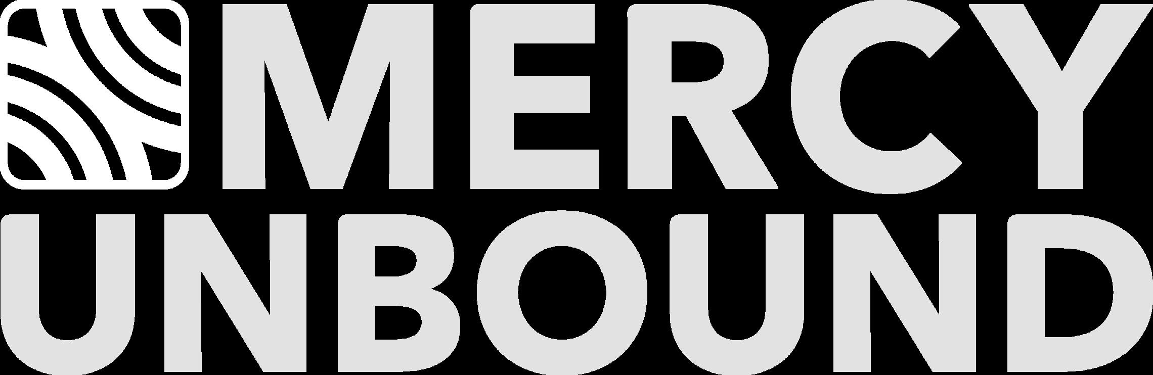 Mercy Unbound Logo Monochrome